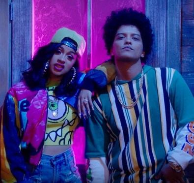 New Video: Bruno Mars & Cardi B 'Finesse' (Remix)