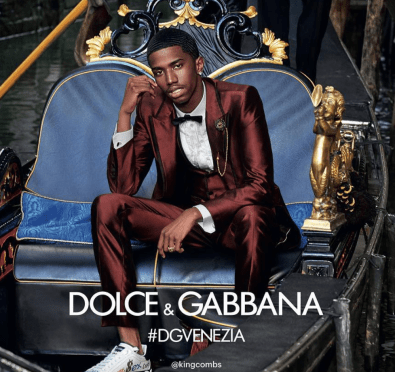 Christian Combs Is The New Face of Dolce & Gabbana's Spring/Summer 2018 Campaign [Photos]