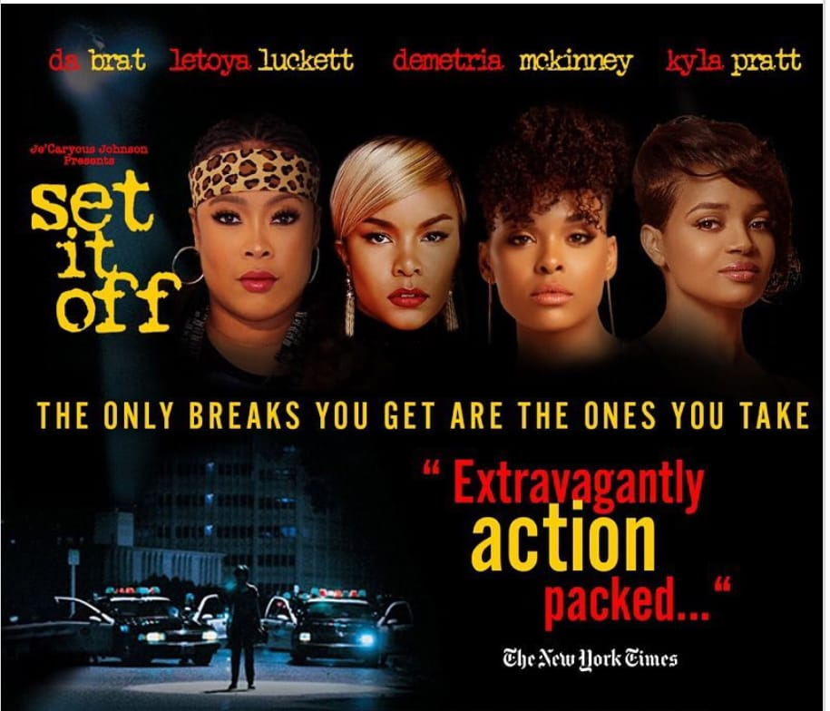 Image result for set it off stage play