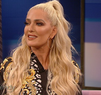 Watch: 'The Real Housewives of Beverly Hills' Fave Erika Jayne Visits 'Wendy' To Dish on Her Rags To Riches Story, New Book, Spending Over $40K a Month on Glam & More