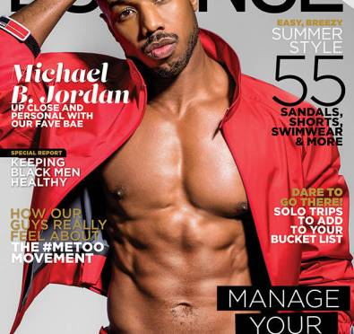 Michael B. Jordan and His Wash Board Abs Cover Essence Magazine's Men's Issue Full of Baby Oil