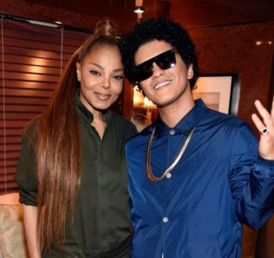 Here For It: Bruno Mars Joins Forces with Idol Janet Jackson To Collaborate on Her New Album