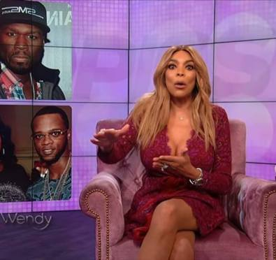 "Watch: Wendy Williams Reacts To 50 Cent's IG ""Flirting"" with Remy Ma, Insinuates 50 Is Gay ""Does He Still Like Girls?"""