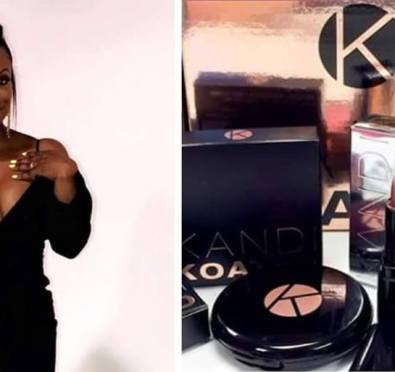 Money Moves: Kandi Burruss Launches 'Kandi Koated Beauty' Makeup Line [Video]