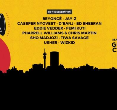 Live Stream: Beyoncé, Jay-Z, Ed Sheeran, Usher & More Headline 'The Global Citizen Festival: Mandela 100' Live From South Africa