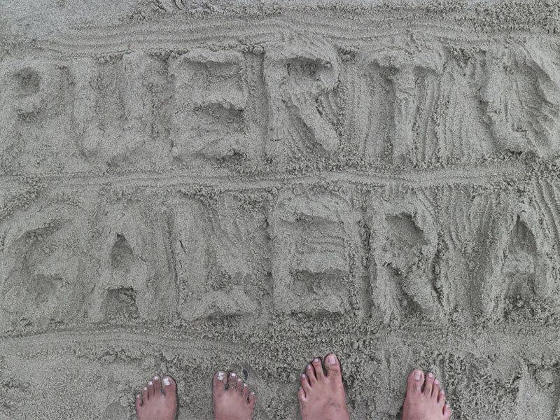 puerto galera sand art
