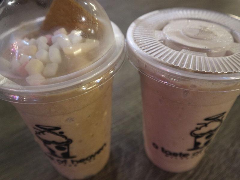 Smores Milkshake & PBC Milkshake from A Taste of Heaven Milhskake Hub The Nest Taguig