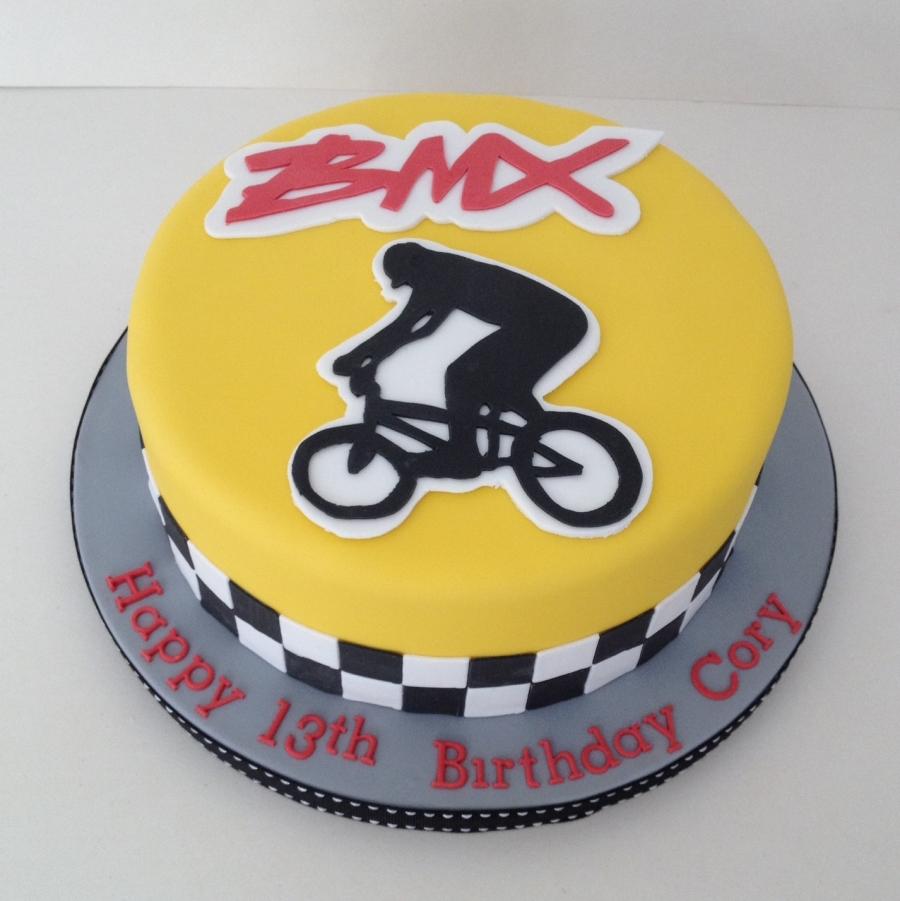 BMX Cake
