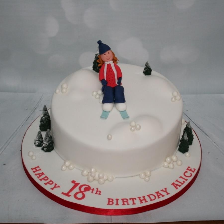 Ski Themed 18th Birthday