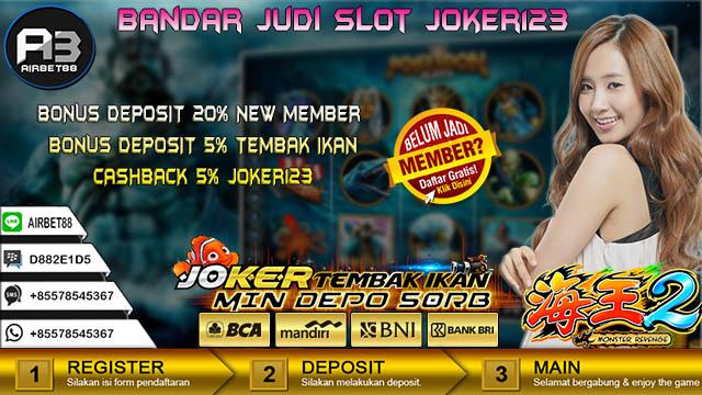 Bandar Judi Slot Joker123