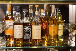 top shelf liquors in a high-class drinking establishment can help you know how to prevent a hangover