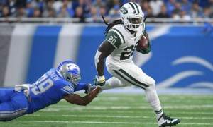 Isaiah Crowell breaks off a long run in Week One Daily Fantasy Lineup in Week 2