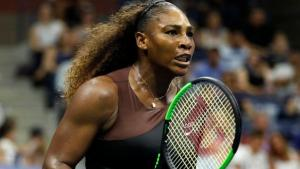 serena williams always plays with grit