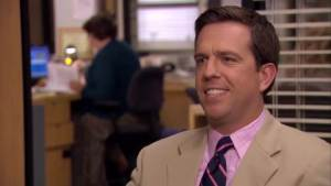 Andy Bernard on ranking the best and worst characters on the office