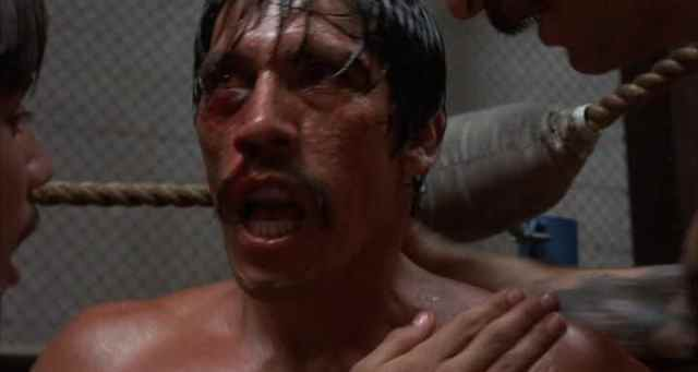 Danny Trejo makes his debut as 'Boxer' in the 1985 film Runaway Train. Danny Trejo Escaped Death Row and became a successful Hollywood actor.