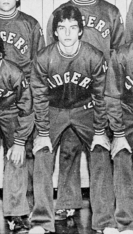 Tom Cruise in high school as a member of the wrestling team. Tom Cruise dyslexia and more issues in his early life.