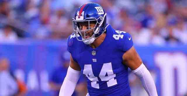 Mark Herzlich cancer New York Giants