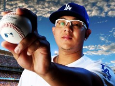 Left-handed pitcher Julio Urias overcame 5 surgeries en route to the major leagues with the Los Angeles Dodgers