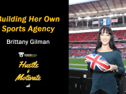 Brittany Gilman interview on Hustle & Motivate, a podcast presented by JokerMag.com, the home of the underdog