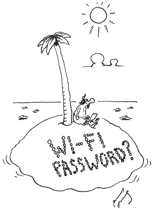 Deserted Island Wi-Fi