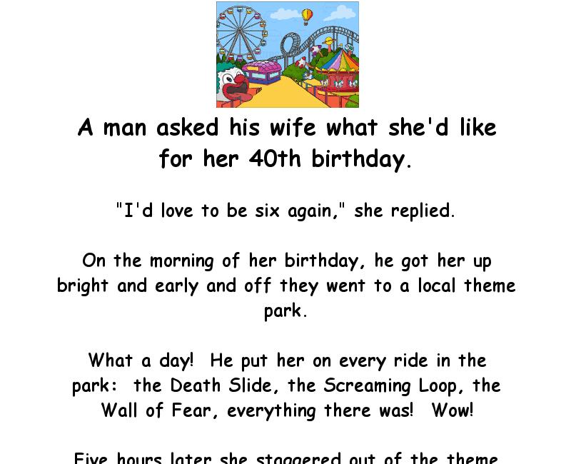 Old Lady Birthday Jokes