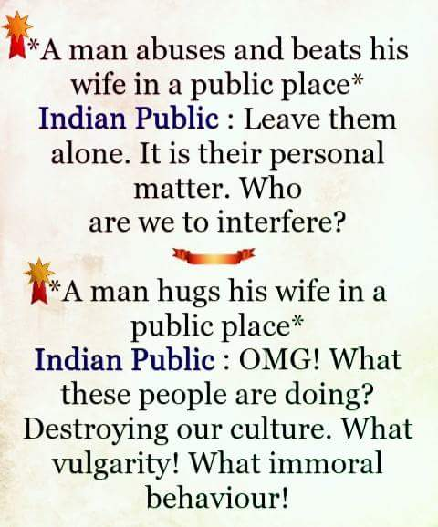 husband and wife indian perspective
