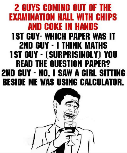Exam evaluation outside exam hall