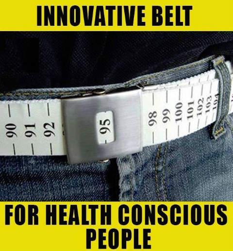 Latest belt design for health conscious people