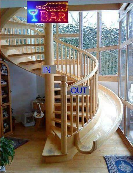 Excellent staircase design for special applications