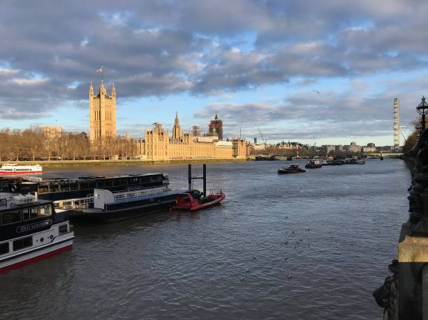 Thames & Houses of Parliament