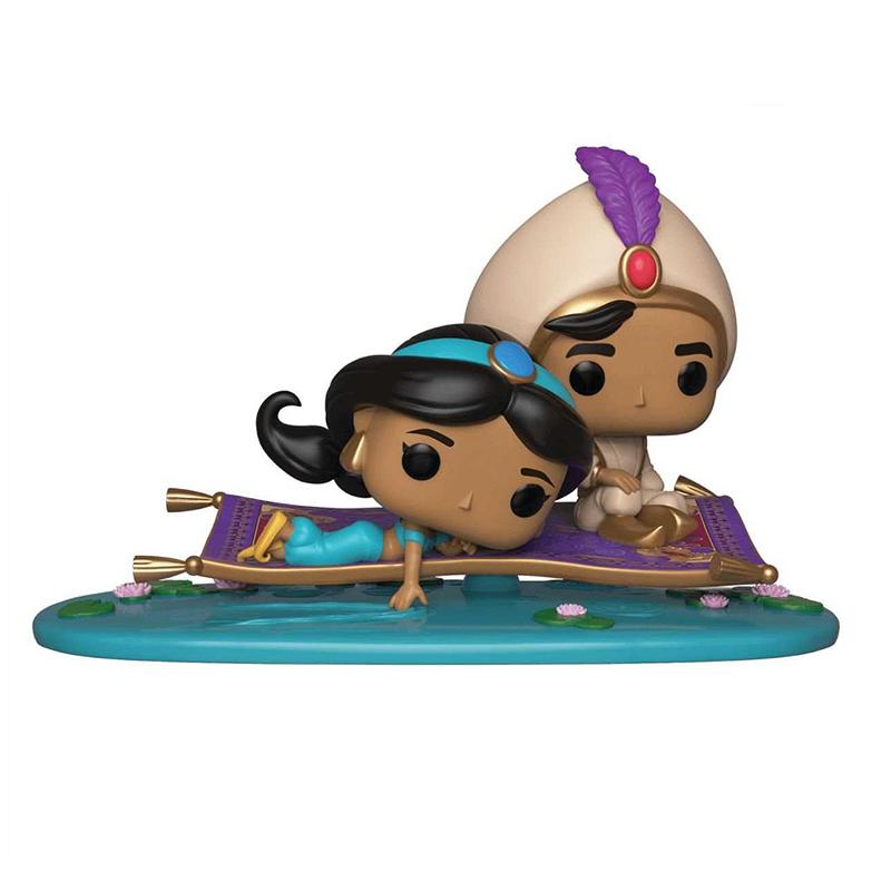 pop movie moments aladdin et jasmine sur le tapis volant