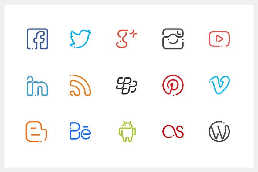 2 Cara Menambahkan Ikon Sosial Media Di Wordpress