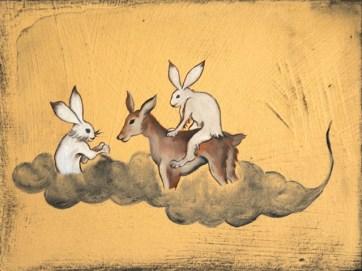 Rui MATSUNAGA Play-rabbit-deer