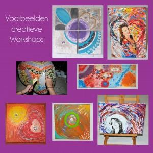 voorbeelden creative workshops collage