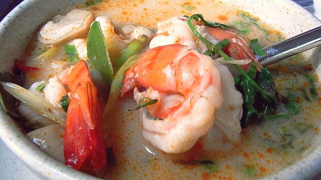 Pratos típicos da Tailândia