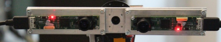 Camera mount - front