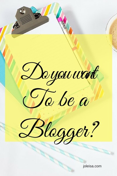 Exciting news if you want to be a serious blogger