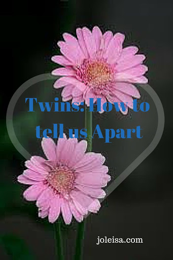 Twins: how to tell us Apart