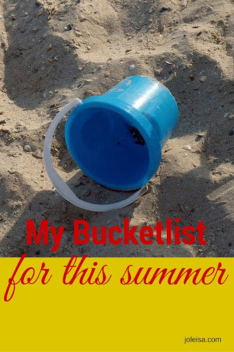 My Summer Bucket List. What Would you add?