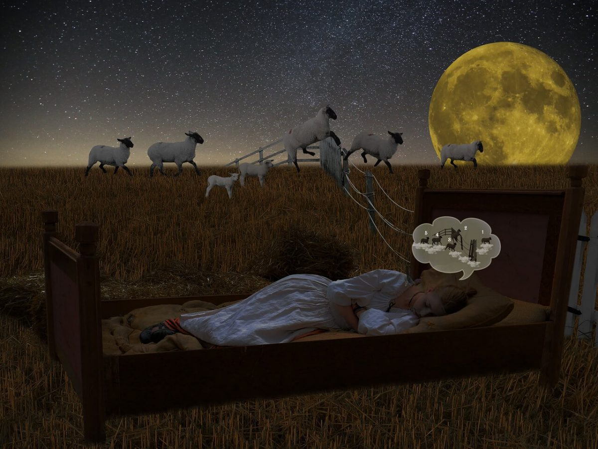 Counting sheep when you are suffering with insomnia and can't sleep, is a common suggestion. Other tips are useful too.
