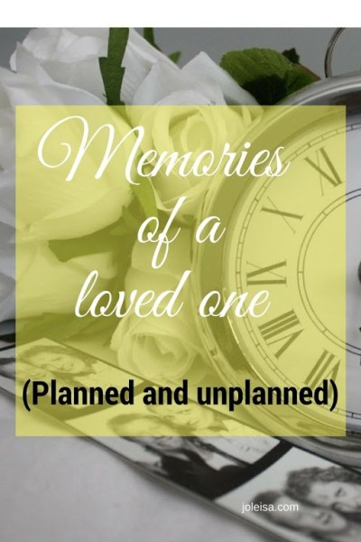Memories of a loved one