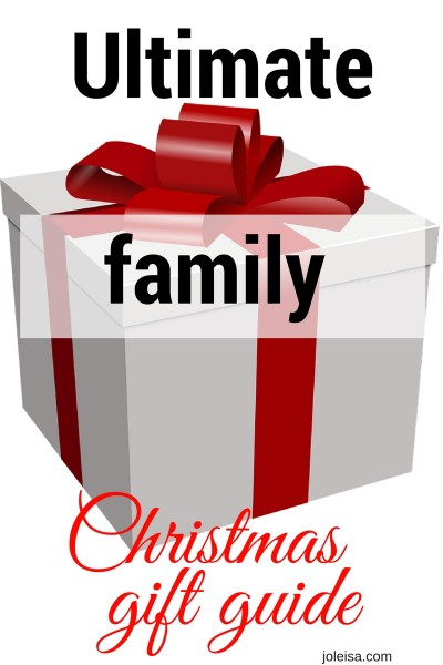 Top 10 Christmas gifts for family fun