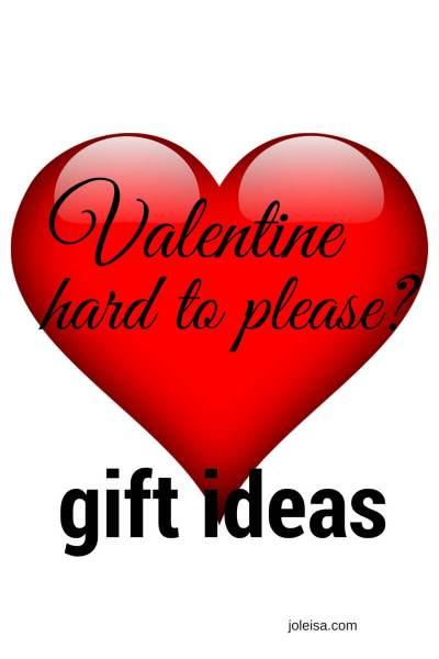 Valentine Gifts for the hard to please