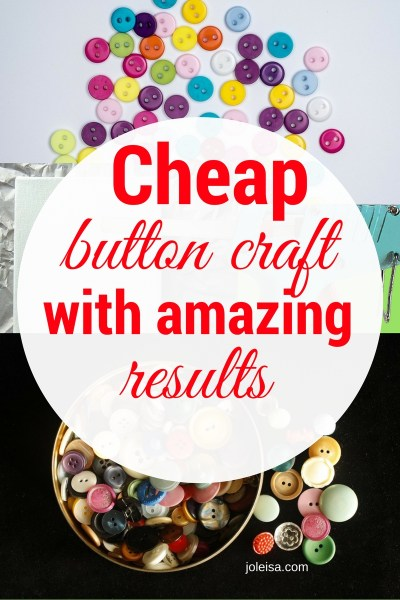 Easy Button Craft for Family Fun