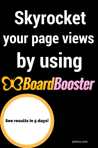 The Awesomeness which is BoardBooster