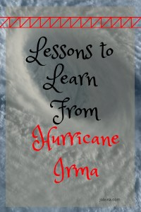 See frugal lessons you can learn from a hurricane. Tje first video about how to charge your phone is my favourite.