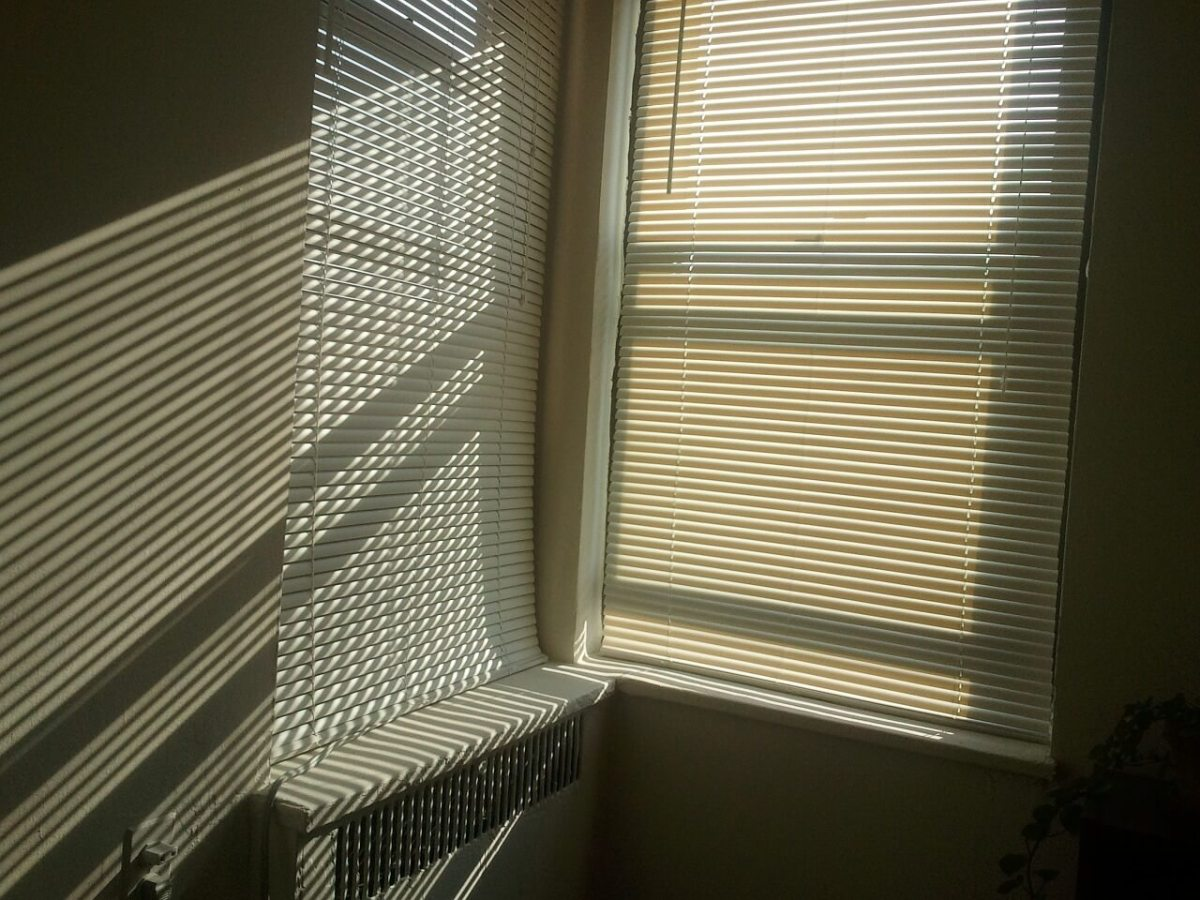 This week I found that even closing the blinds on the windows would keep in some of the heat. Frugal tip #3