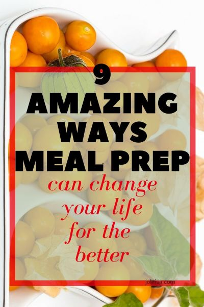 Nine Amazing Ways Meal Prep for Beginners can Change Your Life