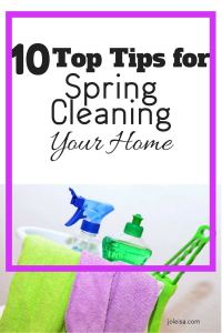 I love these tips for spring cleaning because they are so practical and helpful.When I do some spring cleaning, I am always left feeling lighter, and with items to sell after I de-clutter.