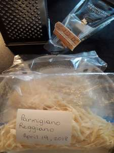Frugal things we've done this week included parmesan. Read to see more.